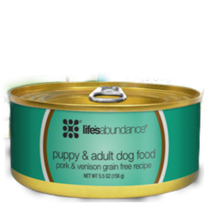 Lifes Abundance Pork and Venison Grain Free Canned Food